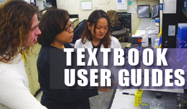 Entering Textbook Information