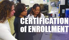 Certification of Enrollment