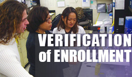 Verification of Enrollment