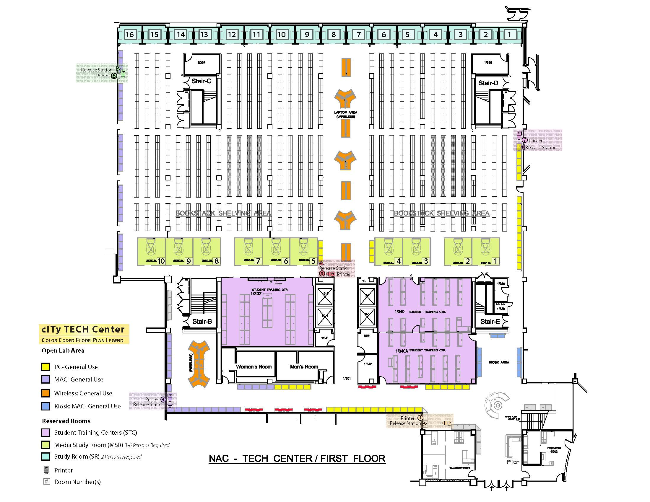 TECH Center Floorplan