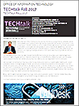 TechTalk the Office of Information and Technology TechTalk Newsletter