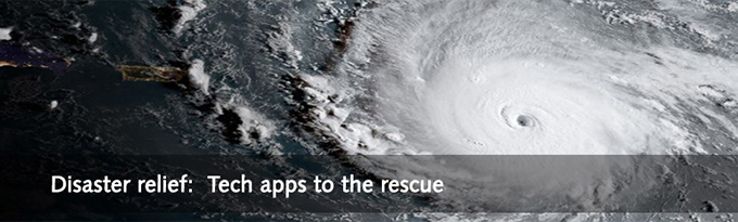 TECHtalk Fall 2017 Disaster Relief Apps
